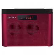ТАЙГА FM+ 66-108МГц/ MP3/USB/ бордовый (I70RED) (PF_C4940)