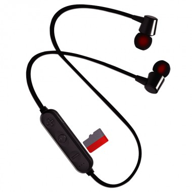 Perfeo наушники внутриканальные с микрофоном беспроводные BELLS чёрные (PF_A4308)