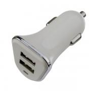PERFEO Автомобильное зарядное устройство с двумя разъемами USB, 1А + 2.1A (I4616)