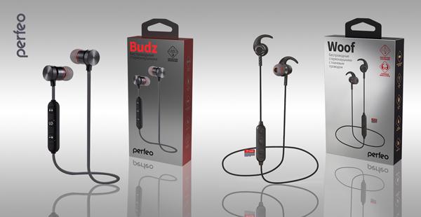 Bluetooth-наушники Woof и Budz