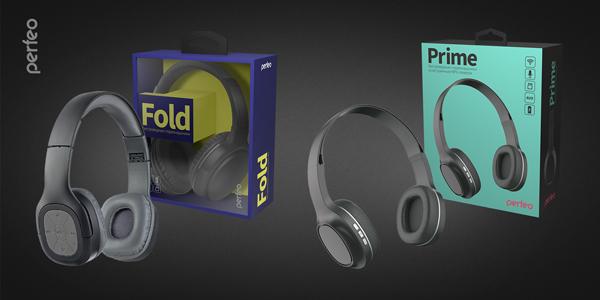 Bluetooth-наушники Fold и Prime