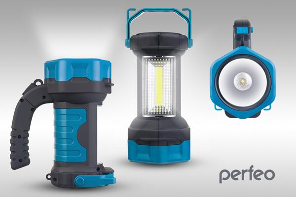 """Perfeo Светодиодный фонарь-прожектор """"MUG""""(PF_B4010)"""
