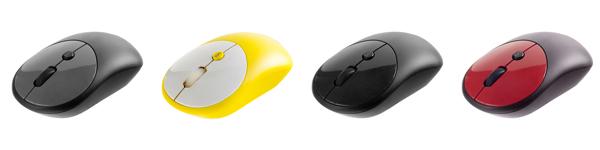 Беспроводная мышь MELANGE отлично подходит для правой и для левой руки.