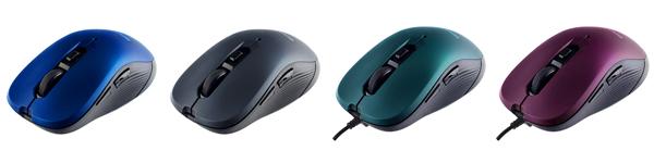 Мышка BREEZE помимо стандартных кнопок получила две боковых «горячих» клавиши для быстрого переключения страниц Интернет-браузера