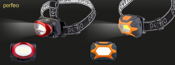Налобные фонари «Area» PL-401 и PL-402
