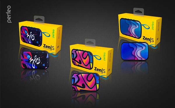 Perfeo Bluetooth-колонка «ZENS» MP3, microSD, USB, AUX, мощность 5Вт